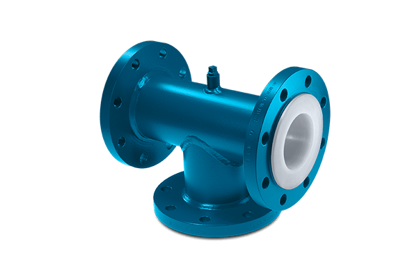 Flanged Tees. BAUM lined piping excellence - Your specialist for the complete product range for lined piping systems